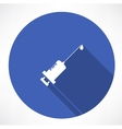 syringe icons vector image