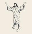 Ascension of jesus christ sketch