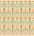 aztec tribal seamless pattern vector image