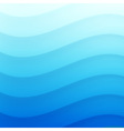 Blue Wavy background for your design vector image vector image