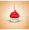 cake birthday party vector image vector image