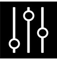 control icon vector image