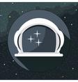 Digital with astronaut helmet icon vector image