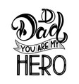 Happy father day lettering