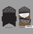 laser cutting vector image vector image