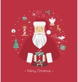 Print for Christmas decorations vector image vector image