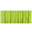 tree woods vector image vector image
