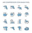 20150726 air compressor pump icon cl2 vector image vector image