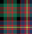 cameron of erracht tartan seamless pattern fabric vector image vector image