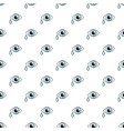 crying eye pattern seamless vector image