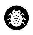 cyber bug icon design vector image