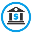 Dollar Bank Rounded Icon vector image vector image