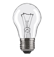 Hand-drawn light bulb on white background EPS8 vector image vector image
