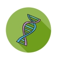 Human DNA icon vector image