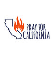 in support southern california after a vector image