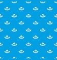 night window pattern seamless blue vector image vector image
