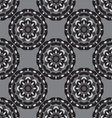 seamless monochrome ornament vector image