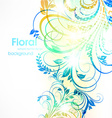 Soft Floral Background vector image vector image