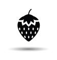 Strawberry icon vector image vector image