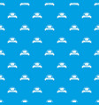 buckle element pattern seamless blue vector image