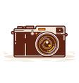 Classic Analog Camera vector image vector image