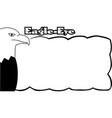 head eagle symbol or logo a company vector image