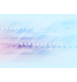 light blue purple shiny abstract tech background vector image vector image