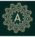 Luxury Logos template flourishes calligraphic vector image vector image