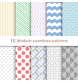 Modern coloful patterns vector image