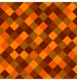 Orange and Red Colored Squares Seamless Background vector image