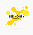 stickers on products apiary vector image vector image