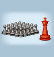 chess ss vector image vector image