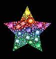 Gem Star vector image vector image