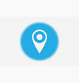 location icon sign symbol vector image vector image