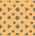 retro seamless pattern simple flat texture design vector image vector image