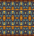 tribal ethnic geometric pattern vector image