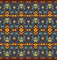 tribal ethnic geometric pattern vector image vector image