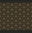 abstract seamless geometric pattern background vector image vector image