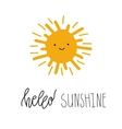 Be Shine Fun quote vector image vector image