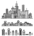 City and elements for design vector | Price: 1 Credit (USD $1)