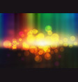 colorful bokeh background multicolor blurred vector image