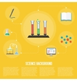 Education infographics concept icon vector image