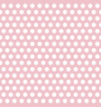 Polka dots pink and white abstract seamless