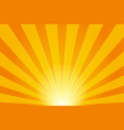 shine sun rays pattern on light background vector image vector image