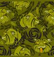 wild cat vector image vector image