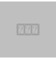 Fortune computer symbol vector image