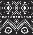 aztec tribal pattern geometric design vector image
