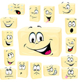 butter cartoon butter cartoon vector image vector image