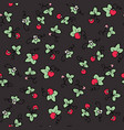color seamless pattern with sweet vector image vector image