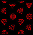 concept abstract geometry diamond vector image